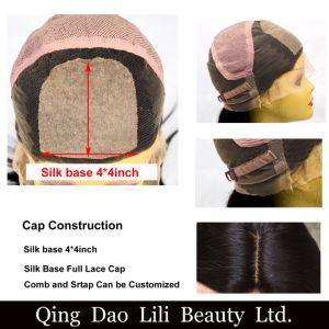 Human Blonde Remy Hair Body Wave Type Silk Top Full Lace Wigs pictures & photos