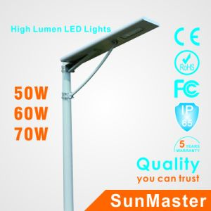 70W All in One Solar Street Light pictures & photos