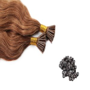European Remy Micro Bead Stick I Tip Hair Extension pictures & photos