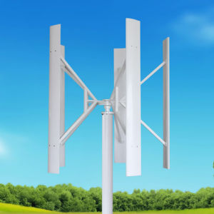600W-20kw Vertical Wind Generator Home Wind Turbine System & Solar System for Home pictures & photos