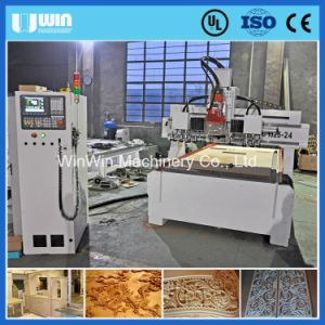 Bt30 Atc Hsd 9kw Spindle Vacuum Table Woodworking CNC Router pictures & photos