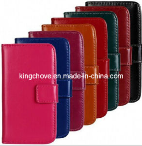 Fashion and Best Selling Leather for iPhone 5 Case (KCI05) pictures & photos