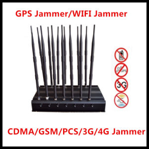 High Power GSM Jammer CDMA Jammer 3G/4G Jammer WiFi Signal Jammer pictures & photos