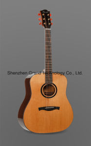 """41"""" Korean Pine Solid From American Custom Handmade Acoustic Guitar pictures & photos"""