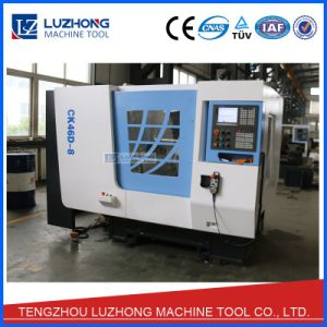 Slant Bed Lathe CNC Turning Center with Milling Head Power Turret (CK46D-8) pictures & photos