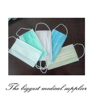 Disposable Nonwoven Surgical Face Mask pictures & photos