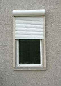 Motorized Window Blinds, Rolling Shutter Window pictures & photos