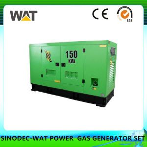 190 Series Natural Gas Generator Set Silent Generator pictures & photos