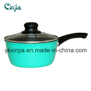 Kitchenware Forged Carbon Steel Non-Stick Sauce Pan Cookware pictures & photos