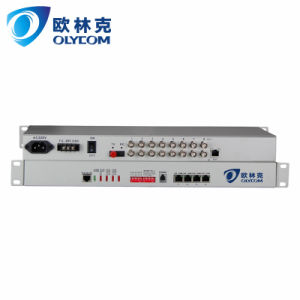 8E1 to fiber PDH Multiplexer FC connector