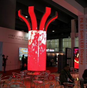 Spcial Indoor Soft P10 LED Advrtising Display with CE RoHS UL pictures & photos