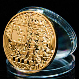 Custom Wholesale Metal Gold Souvenir Coins with Plastic Box pictures & photos