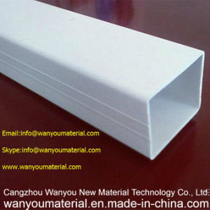 PVC Plastic Pipe/Square PVC Pipe/Rectangle PVC Pipe