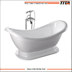 2014 Square Free Standing Bathtub Tcb006p pictures & photos