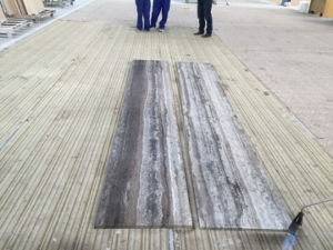 Silver Travertine for Tile/Slab for Flooring pictures & photos