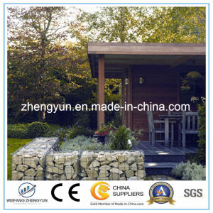 China Galvanized Welded Gabion Basket (manufacture) pictures & photos