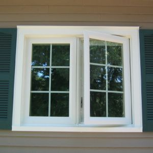 Aluminum French Window (Model 5)