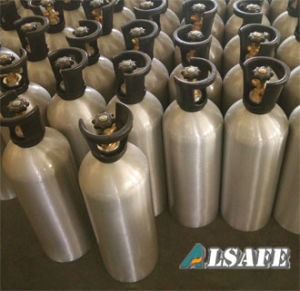 Refillable Compressed Carbon Doxide Aluminum Bottles pictures & photos