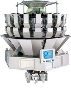 Triple Chute Multi Head Weigher (AC-6B18-4B-08X)