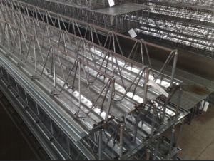 Galvanized Steel-Bar Truss Decking for Building Materials pictures & photos