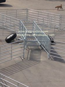 Manufacturer Sale New Style Sheep Yard Trailer Syt01 pictures & photos