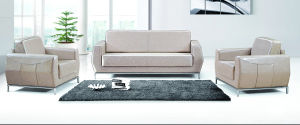 Guangzhou Light Color Nice Home Lobby Sofa (FOH-8012) pictures & photos