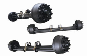 Concave Type Axle for Trailer /Truck Parts with Square Beam pictures & photos