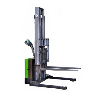 1-1.2t Economic Electric Stacker with Adjustable Wide Leg pictures & photos