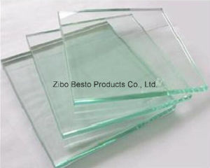 Colored (white, green, blue, black) Tempered Glass Table Top pictures & photos