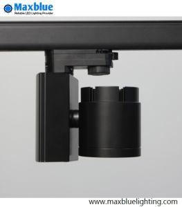 High CRI 95ra Black Finish COB LED Track Light pictures & photos