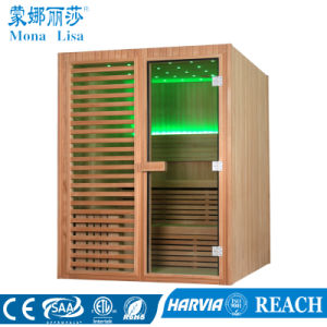 Indoor Home Style Sauna Room with Canadian Cedar Wood (M-6038) pictures & photos
