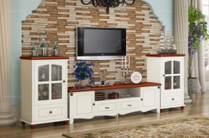White Highlights The Lacquer That Bake Modern TV Cabinet TV-12 pictures & photos