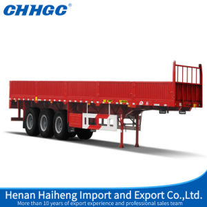 ISO CCC Approved 3 Axles 40t Side Wall Semi Trailer pictures & photos
