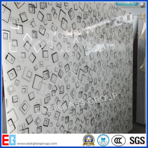 Frosted Paint Coated Art Glass for Decorative Furniture pictures & photos
