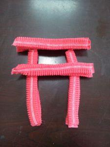 """Disposable Double Reinforcement21"""" 12gnon-Woven Strip Cap (red)"""