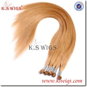 European Remy Hair Hand Tie Human Hair pictures & photos
