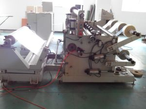 Automatic Slicing Machine of PVC, OPP, Pet, PE, PU, BOPP (With CE) pictures & photos