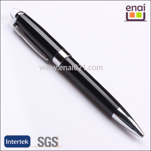 Graceful Good Writing Metal Pen with Top Acrylic Ball (EN127B)