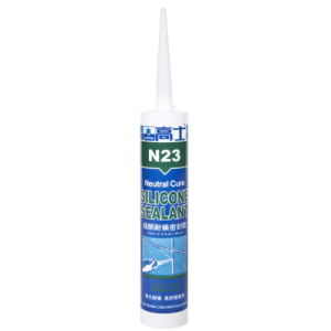 Neutral Silicone Sealant Waterproof for Plasterboard, MDF, PVC, Concrete, Glass (N23)