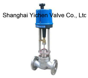 Globe Type Electric Single-Seat Control Valve (ZRHP) pictures & photos