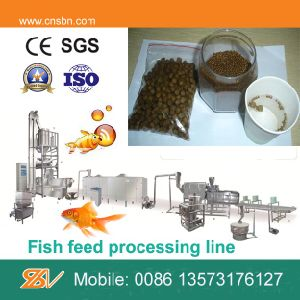 Factory Direct Supplier Swimming Fish Feed Pellet Making Machine pictures & photos