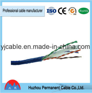 Hot Selling, Twisted Pair Category 6 4pr 24AWG 0.5mm UTP LAN Cable pictures & photos