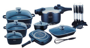 25-Piece Die-Cast Aluminum Cookware Set (ZY-ST25-2)