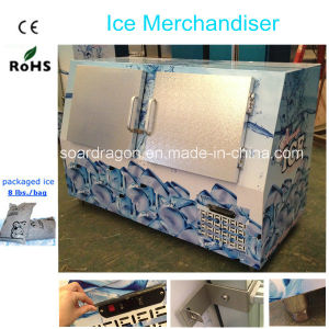 Ice Freezer Storage with Double Doors pictures & photos
