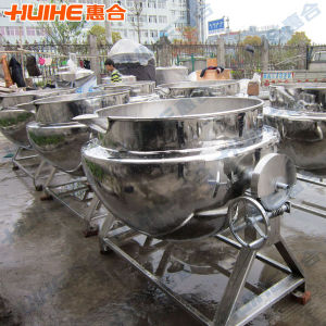 Steam Jacketed Sugar Jacketed Kettle (pot) pictures & photos