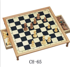 Wooden Chess Game, Luxurious Chess Set