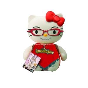Plastic Hello Kitty Cartoon Doll