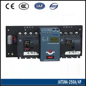 Circuit Breaker Type Automatic Changeover Switch (JATSNA-250 4P) pictures & photos