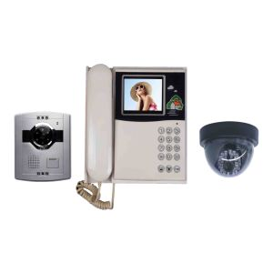 4 Inch Color Video Door Phone Screen Can Connect CCTV Camera