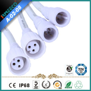 Circular Waterproof Cable Connector 2-8 Pins Od19mm Factory Price